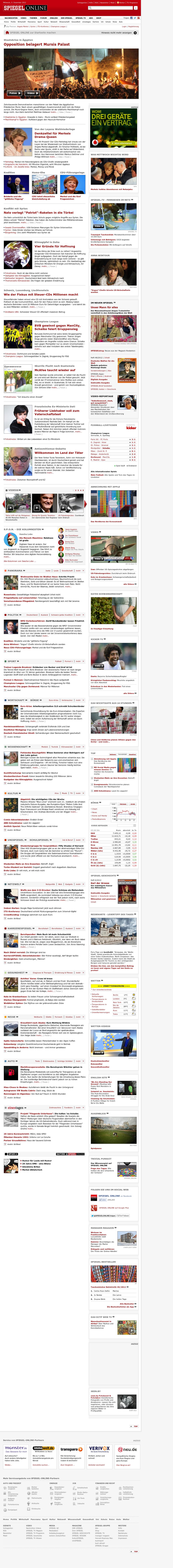 Spiegel Online at Wednesday Dec. 5, 2012, 2:32 a.m. UTC
