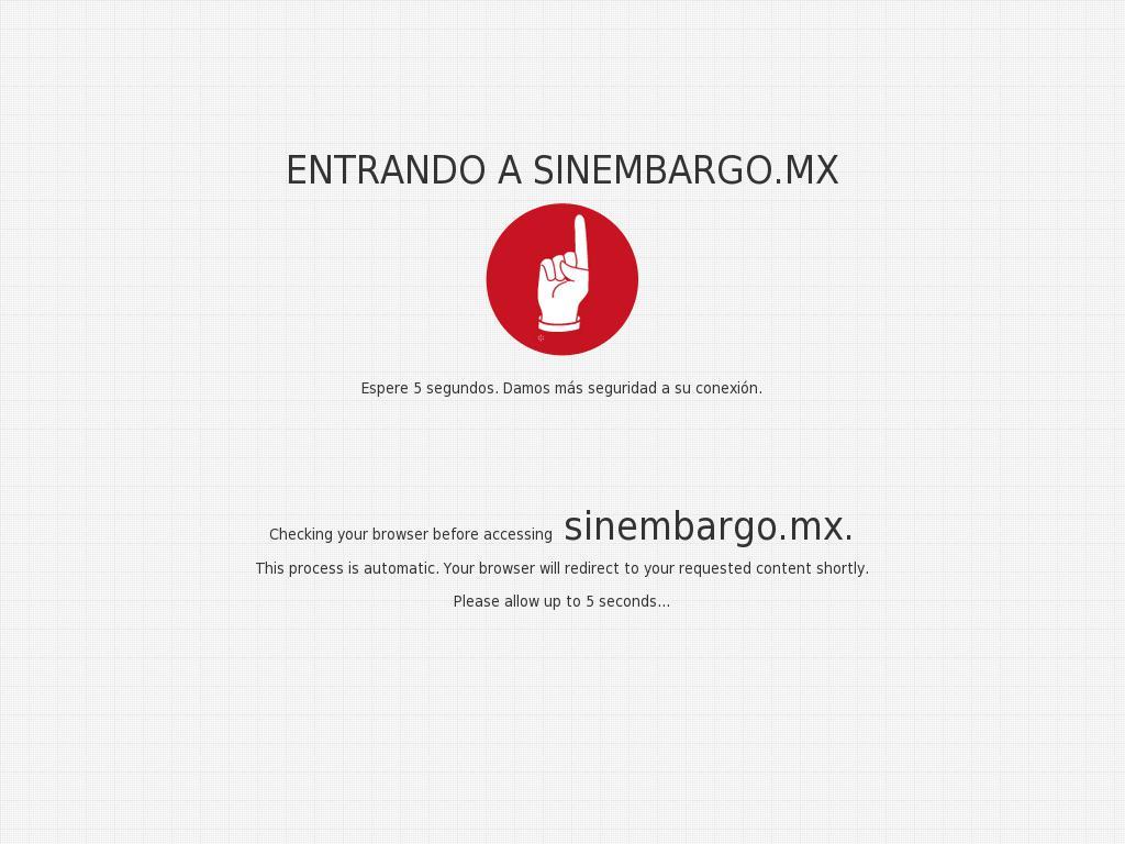 Sin Embargo at Saturday July 1, 2017, 5:19 a.m. UTC